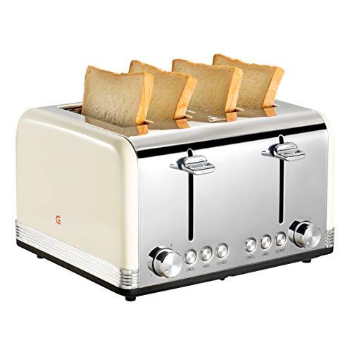 cream dualit 4 slice toaster - 3