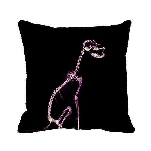 Smity 106 Pillowcase Animal X Ray Dog Cushion Cover 20 x 20 Inch
