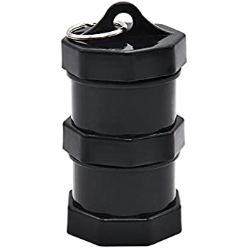 Amazon.com: Stash Jar - Bote de aluminio para hierbas (doble ...