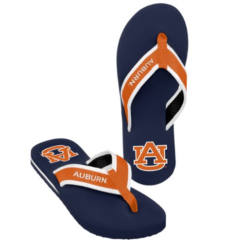 Auburn Heren Team Kleur Contour Flip Flop Medium