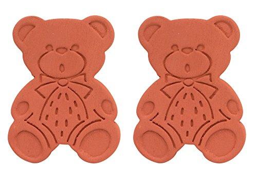 Brown Sugar Bear Original Brown Sugar Saver and Softener, Terracotta, Set of 2 (Best Way To Keep Apples From Turning Brown)