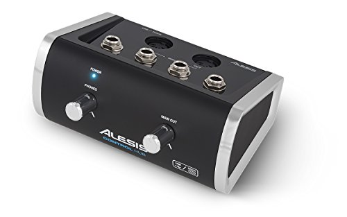 Alesis Control Hub | Premium MIDI Interface with Audio Output (24-bit / 48kHz) (Best Bus Powered Audio Interface)
