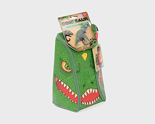 ZipBin 45 Dinosaur Bring Along Backpack w/1 Dinosaur ()