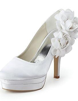 ZQ Zapatos de boda-Planos-Tacones / Punta Redonda-Boda / Vestido /