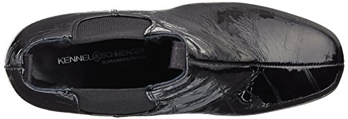 Canile E Schmenger Scarpa Manifattura Donne Karen Stivali Chelsea Nero (nero 360)