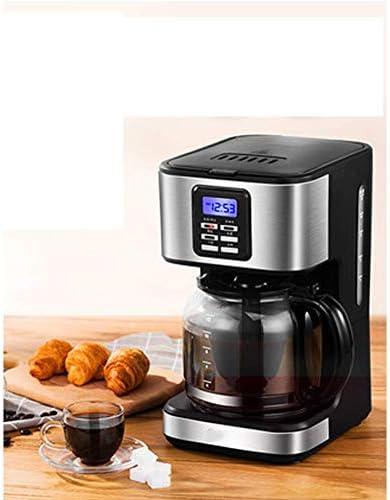 Qinmo Iced Machine à café, Machine à café Automatique Accueil Petit Pot de café épais/Free Light réglable, la Circulation Vortex American Diversion,