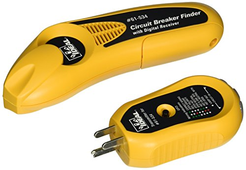IDEAL 61-534 Digital Circuit Breaker Finder with Digital Receiver and GFCI Circuit Tester - Ideal Circuit Tracer