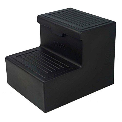 Jolly Pets Sportote 2 Step with Storage, Black