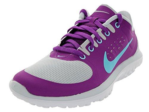 Nike Womens FS Lite Run Running Shoes, Pr Pltnm/Plrzd Bl/Brght Grp/Wh, 38 B(M) EU/4.5 B(M) UK