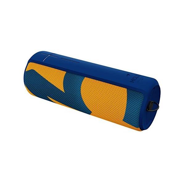 Enceinte MEGABOOM McLaren Sans fil/Bluetooth (Étanche et résistante aux chocs) - MCL33 - Bleu/Orange 3