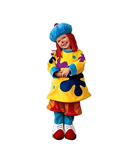 Jojo Circus Halloween Costume (JOJO Jo Jo's Circus Clown Costume Size XS (Toddler Size 4T))