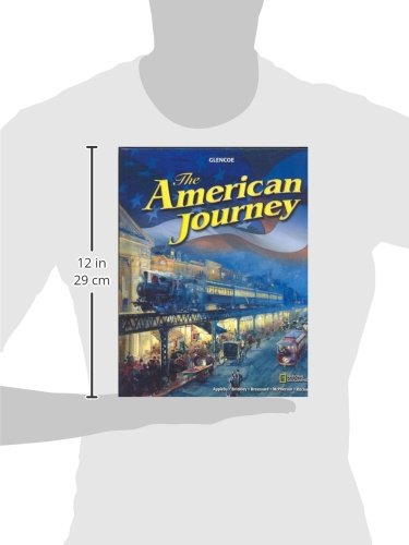 The American Journey, Student Edition (THE AMERICAN JOURNEY (SURVEY)) by Glencoe/McGraw-Hill (Image #1)