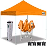 Best 10x10 Canopies - Eurmax 10'x10' Ez Pop Up Canopy Tent Commercial Review