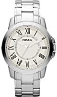 Fossil Men's FS4734 Grant Stainless Steel Watch by FOSSIL