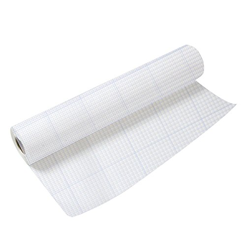 Clearprint 1000H Series Vellum 8X8 Grid Roll 24 Inch by 5 Yards