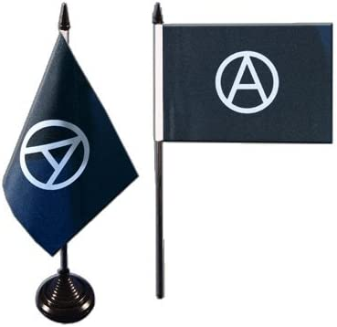 Digni/® Anarchy Table Flag free sticker