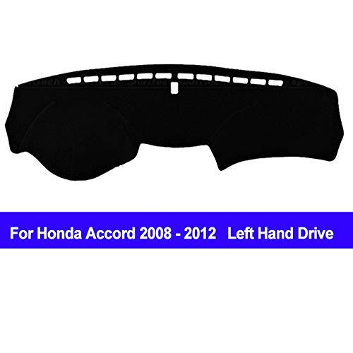 (AUCD Car Dashboard Cover Dash Mat Dash Board Pad Carpet Automobile Dashmat Anti-UV for Honda Accord 2008 2009 2010 2011 2012)