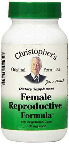 Dr Christophers Formula Female Reproductive Formula  100 Count