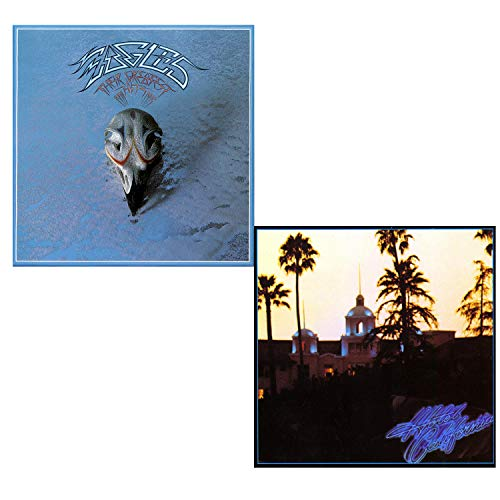Their Greatest Hits (71-75) - Hotel California - Eagles 2 LP Vinyl Album Bundling - 180 gram (Hotel California Record)