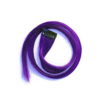 Amazon 22 clip in straight long hair extension purple by 22 clip in straight long hair extension purple by winstonia pmusecretfo Images