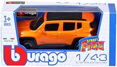Bburago Maisto France- Jeep Renegade 1/43, 30385, Couleur aléatoire