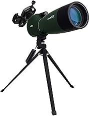 Svbony SV28 Telescopio Terrestre 20-60x80mm IP65 Waterproof Bak-4 Prism Catalejo con Trípode y Adaptador de Smartphone para la Observación de Aves