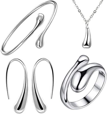 NYKKOLA Sterling Silver Necklace Earring product image