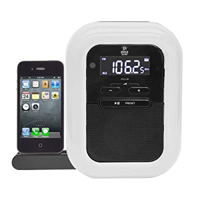 WCI Quality Charging Docking Station For Apple iPod And iPhone With Stereo Music Speaker - FM Radio And Dual Alarm Clock - Sleek Fancy Design by WCI