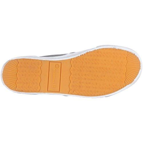 Romika Laser 20002 70 000 - Zapatillas de lona estilo mocasín unisex Gris