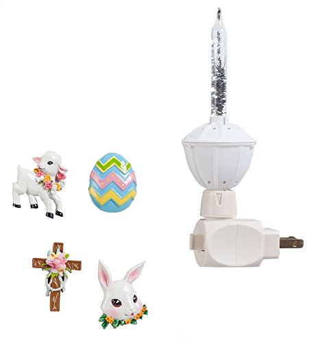 Silver Bubble Nightlight Easter Clips