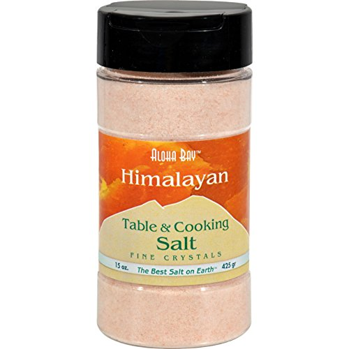 Himalayan Table And Cooking Salt Fine Crystals - 15 oz - Free Of Additives by Himalayan Salt Solution