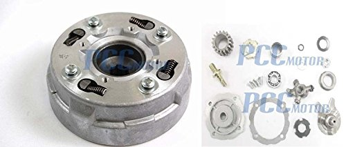 3LE ASSEMBLY QUAD CLUTCH SEMI AUTOMATIC ONLY 110cc 125cc CHINESE ATV 17 TEETH CT16 (Clutch Quad)