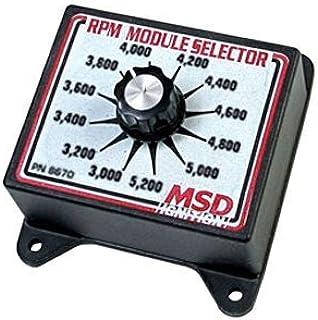 msd 8670 rpm module selector