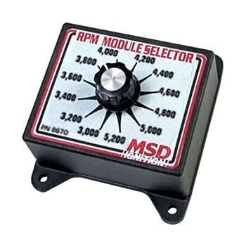 amazon com msd 8739 two step module selector automotive msd 8670 rpm module selector