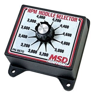 MSD 8670 RPM Module Selector - Step Launch Control 2