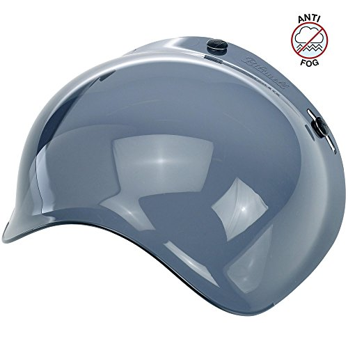 Biltwell Unisex-Adult (BS-SMK-AF-SD) Bubble Shield-Smoke-Anti-Fog, One Size)