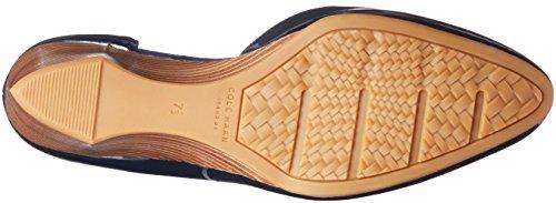 Marine Sadie Platform Patent Ankle Women's 85mm Wedge Haan Strap Blue Cole gqE8P8