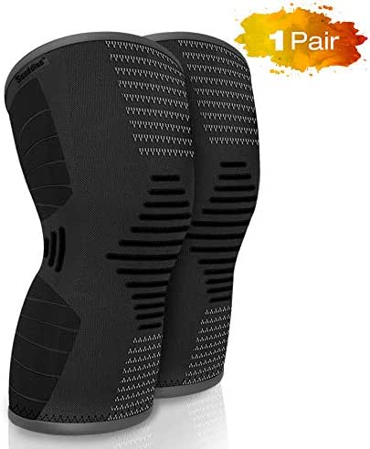 scuddles Knee Brace for Women, Men Compression Sleeve Support for Running, Jogging, Sports - Brace for Joint Pain Relief, Arthritis and Injury Recovery