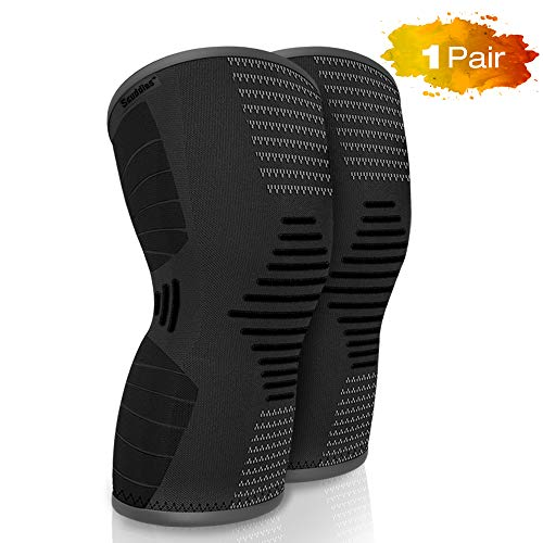 1c844bc949 Scuddles Knee Compression Sleeve - Knee Brace for Women Men - Knee  Protector for Meniscus Tear