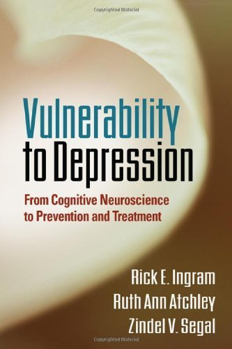 Vulnerability to Depression: From Cognitive Neuroscience to Prevention and Treatment by Rick E. Ingram PhD (2011-06-07)