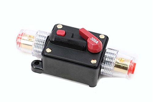 300a Car Audio (Xtenzi 300A Car Audio Inline Circuit Breaker (12V-24V DC))