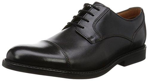 Clarks BECKFIELD Cap Black Leather