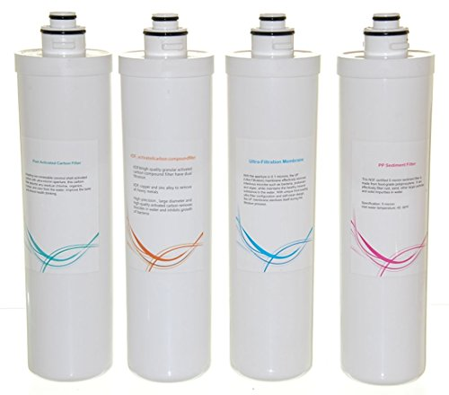 Ispring F4 Cua4 4 Piece Filter Pack For 4 Stage Ultra