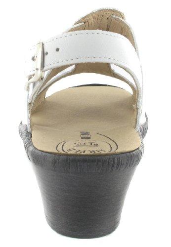 SALE - ROMIKA - Hanna 03 - Damen Sandalen - Weiß Schuhe in Übergrößen