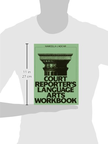 Court Reporter's Language Arts Workbook by Pearson