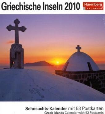 Harenberg Sehnsuchts-Kalender Griechische Inseln 2010