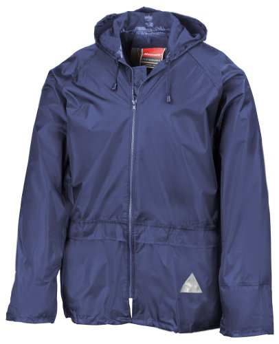 Regenanzug ( Jacke und Hose), absolut wasserdicht ,royal blue, L L,Royal Blue