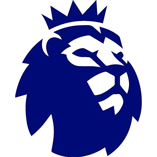 - ANGDEST The Premier League (Navy Blue) (Set of 2) Premium Waterproof Vinyl Decal Stickers for Laptop Phone Accessory Helmet Car Window Bumper Mug Tuber Cup Door Wall Decoration