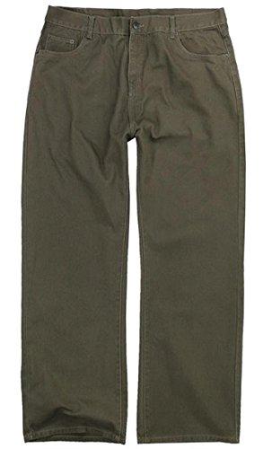 Übergrössen !!! schicke Designer Basic Jeans Lavecchia D221 in Khaki