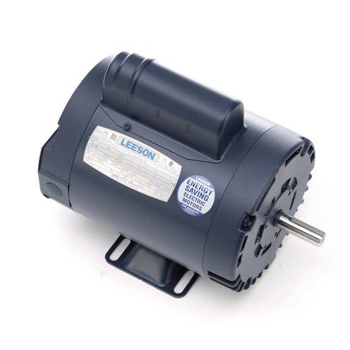 Leeson Electric 110396.00 - General Purpose Motor- Special Voltage - 1 ph, 3/4 hp, 1500 rpm, 110/220 V, 56 Frame, Drip Proof Enclosure, 50 Hz, Rigid base Mount (Frame Base Rigid 56)